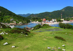 Great views from Accommodations in Florianópolis