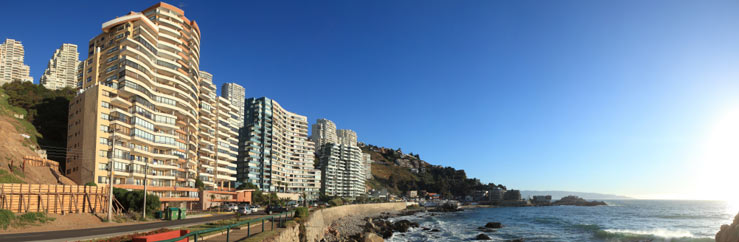 How to get to the Language School in Viña del Mar  - © Luis Sandoval Mandujano
