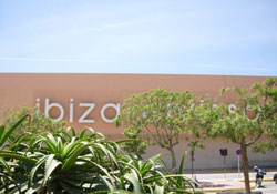 The airport on Ibiza